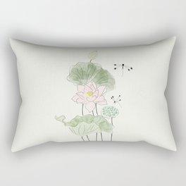 Pond of tranquility Rectangular Pillow