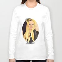 britney Long Sleeve T-shirts featuring BRITNEY SPEARS  .- BRITNEY JEAN  by Alfonso Aranda