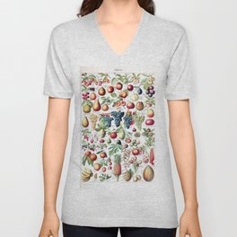Adolphe Millot - Fruits pour tous - French vintage poster Unisex V-Neck