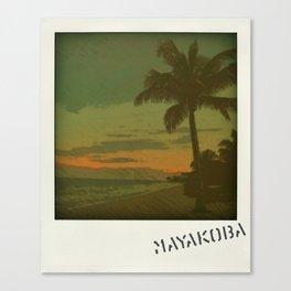 Mayakoba Canvas Print