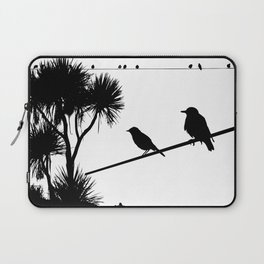Birds on a wire Laptop Sleeve