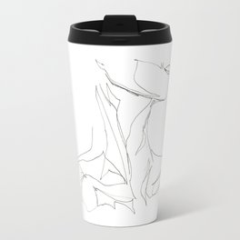 Line XII (female [collar]) Travel Mug