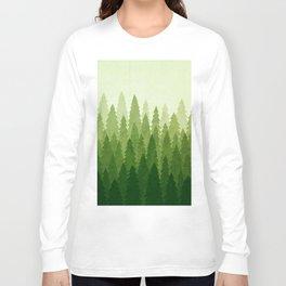 C1.3 Pine Gradient Long Sleeve T-shirt
