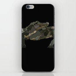 Mellifluous Crocodiles iPhone Skin