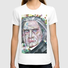 FRANZ LISTZ - watercolor portrait.1 T-shirt