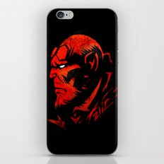 Hell Boy iPhone & iPod Skin