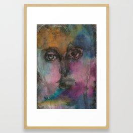 Watercolor Man Framed Art Print