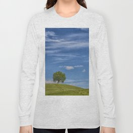 THE TREE ON THE HILL Long Sleeve T-shirt