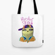 Hipster Sloth Tote Bag