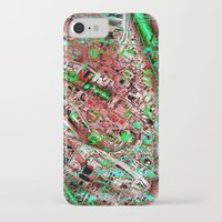 los angeles iPhone & iPod Cases featuring los angeles by donphil