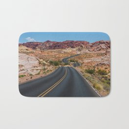Valley of Fire - Nevada USA Bath Mat
