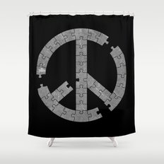 Puzzle Peace Shower Curtain