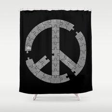 Puzzle Peace Shower Curtain