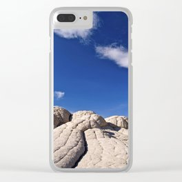 The Brain Rocks of White Pocket Clear iPhone Case