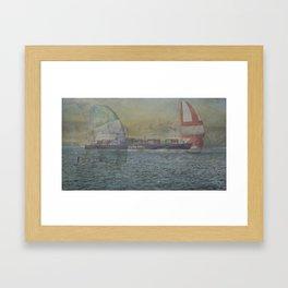 SF Bay Framed Art Print