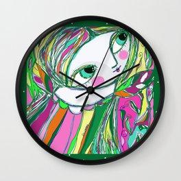 Joy Fairy Wall Clock
