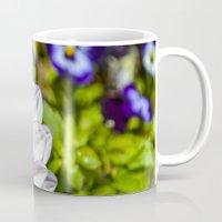 dahlia Mugs featuring Dahlia by Bold Creative Arts