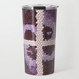 Glass Art Travel Mug