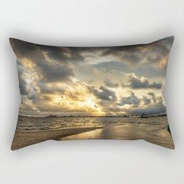 Golden Summer Evening Rectangular Pillow