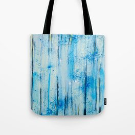 lines on blue background Tote Bag