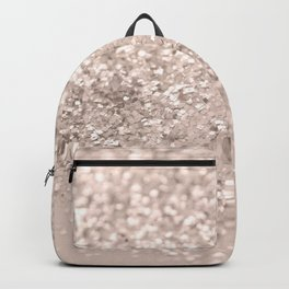 Blush Glitter Dream #4 #shiny #decor #art #society6 Backpack