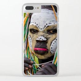 Suri Jungle Clear iPhone Case
