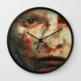 The Human Race 3 Wall Clock