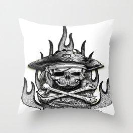 NEIGHBORHOOD OF PIRATE.... Vol 2 Throw Pillow