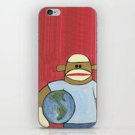Sock Monkey 109 iPhone Skin