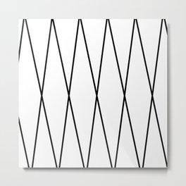 Crisscross Applesauce  Metal Print