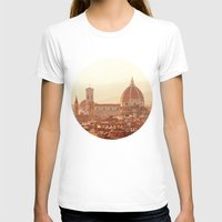 florence T-shirts featuring Florence Cathedral by happeemonkee