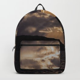 Dramatic change in the weather Backpack