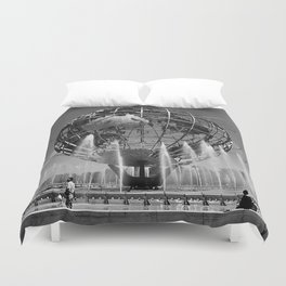 A Dramatic Summer Afternoon in Queens Duvet Cover