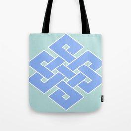 Eternal (soft blue & green) Tote Bag