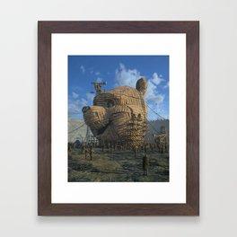 TROJAN POOH (everyday 04.03.19) Framed Art Print