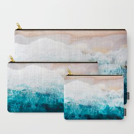 Watercolour Summer beach III Carry-All Pouch
