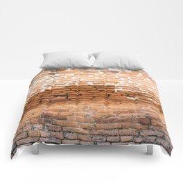 Brick Texture Comforters