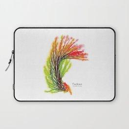 Tillandsia Funckiana Air Plant Watercolors Laptop Sleeve