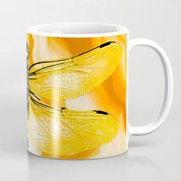 DRAGONFLY IN AGATE Coffee Mug