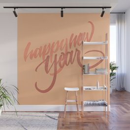 HAPPY NEW YEAR Wall Mural