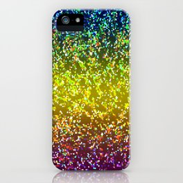 Glitter Graphic Background G107 iPhone Case