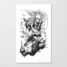Destructive Creation Canvas Print
