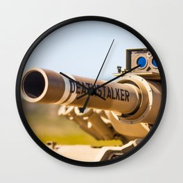 Death Stalker Tank Wall Clock