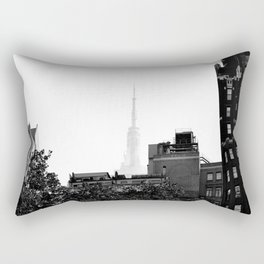 Spire of the Empire NYC Rectangular Pillow