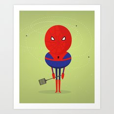 My bug hero! Art Print