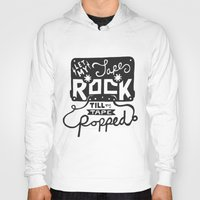 tape Hoodies featuring Tape Rock by Alpha-Tone