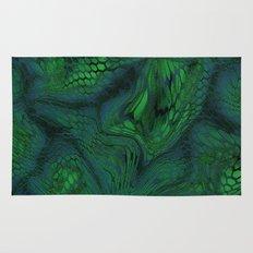green iguana Rug