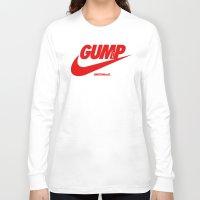 forrest gump Long Sleeve T-shirts featuring Gump- JustDoIt III by IIIIHiveIIII