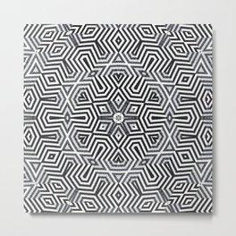 Optical art XIX Metal Print