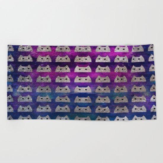 cat-497 Beach Towel